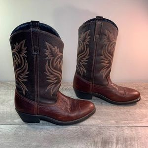 Laredo Paris Western Cowboy Mens Boots 9